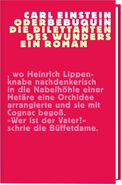 Cover-Bild Bebuquin