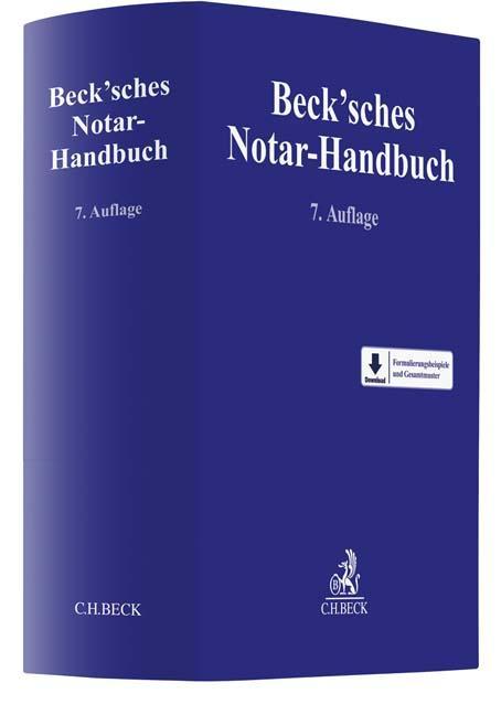 Cover-Bild Beck'sches Notar-Handbuch