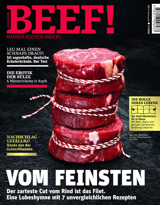 Cover-Bild BEEF! - Für Männer mit Geschmack