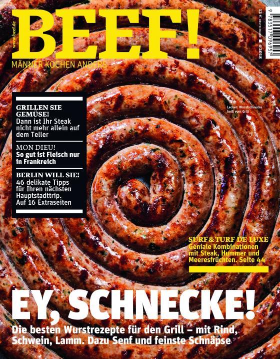 Cover-Bild BEEF! Heft 04/2018 - Für Männer mit Geschmack