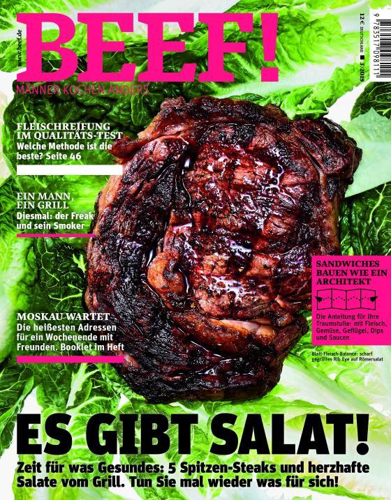 Cover-Bild BEEF! Nr. 51 (3/2019)