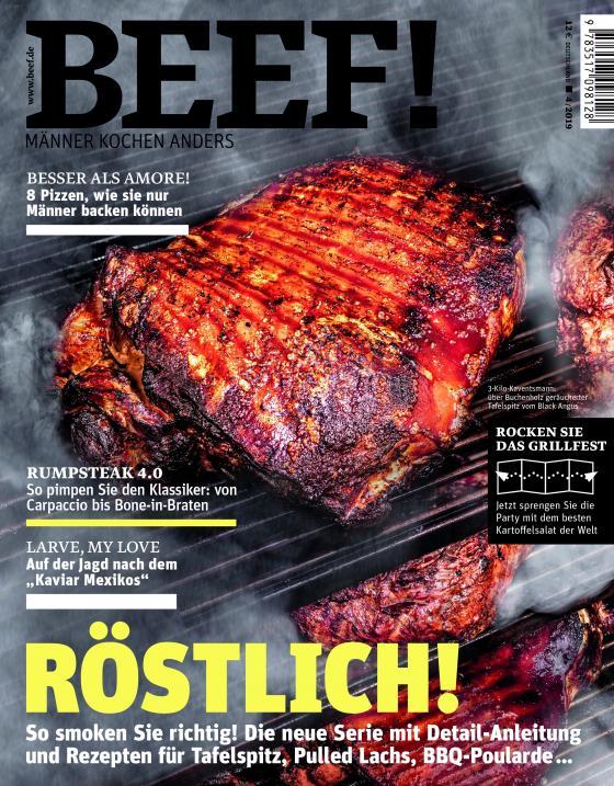 Cover-Bild BEEF! Nr. 52 (4/2019)