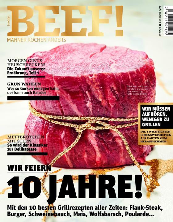 Cover-Bild BEEF! Nr. 53 (5/2019)