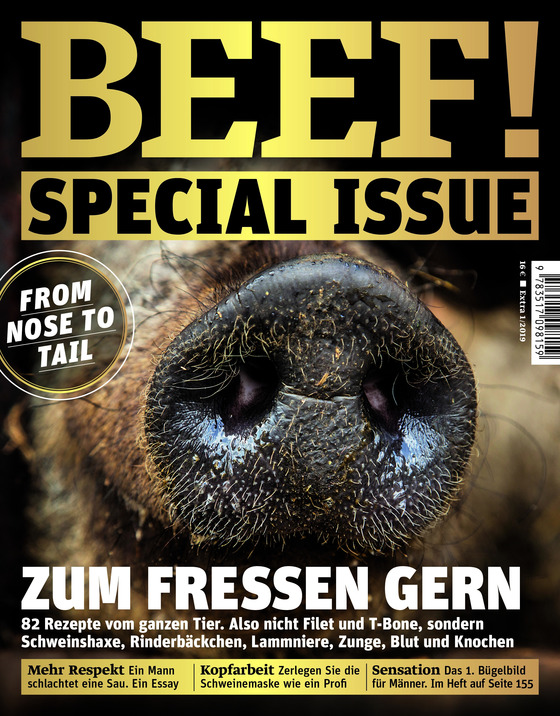 Cover-Bild BEEF! Spezial Issue 1/2019