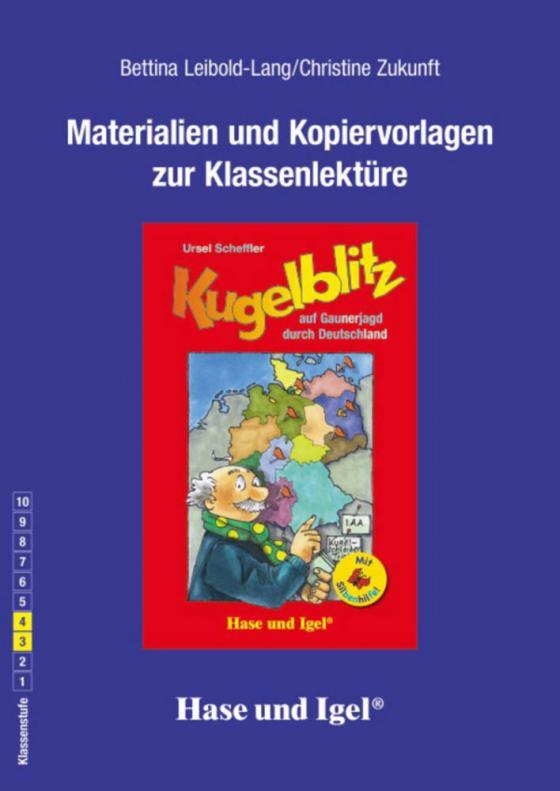 Cover-Bild Begleitmaterial: Kugelblitz auf Gaunerjagd durch Deutschland / Silbenhilfe