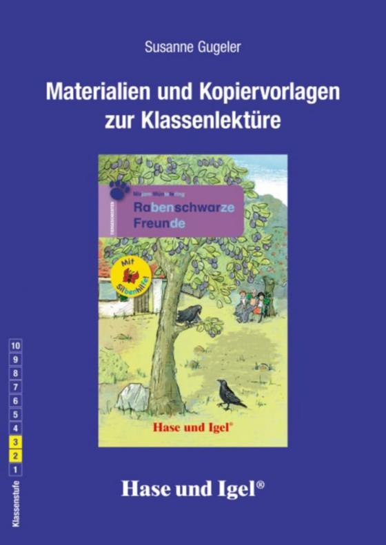 Cover-Bild Begleitmaterial: Rabenschwarze Freunde / Silbenhilfe