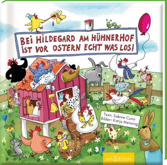 Cover-Bild Bei Hildegard am Hühnerhof ist vor Ostern echt was los!
