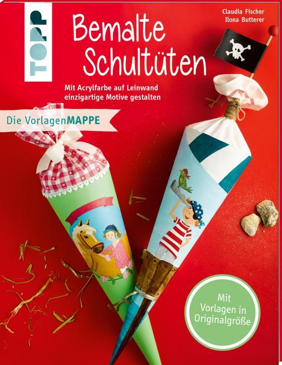 Cover-Bild Bemalte Schultüten (kreativ.kompakt)