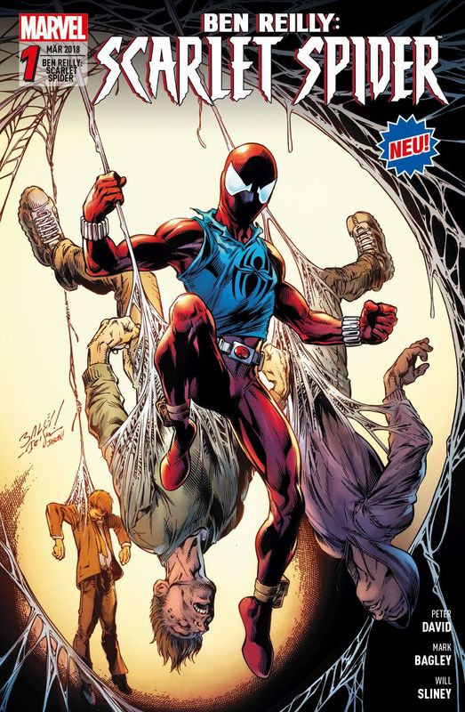 Cover-Bild Ben Reilly: Scarlet Spider
