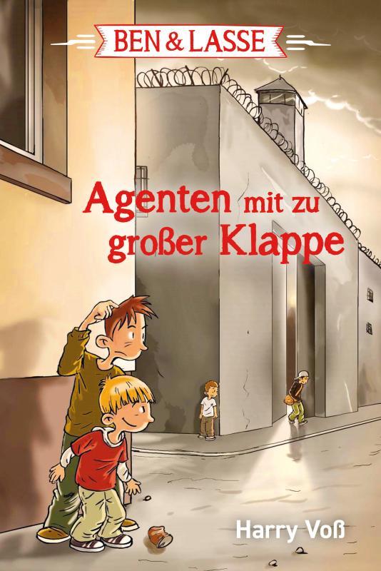 Cover-Bild Ben & Lasse - Agenten mit zu großer Klappe