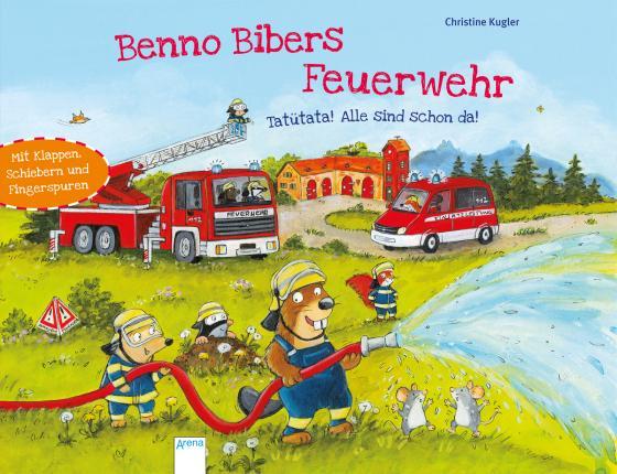 Cover-Bild Benno Bibers Feuerwehr