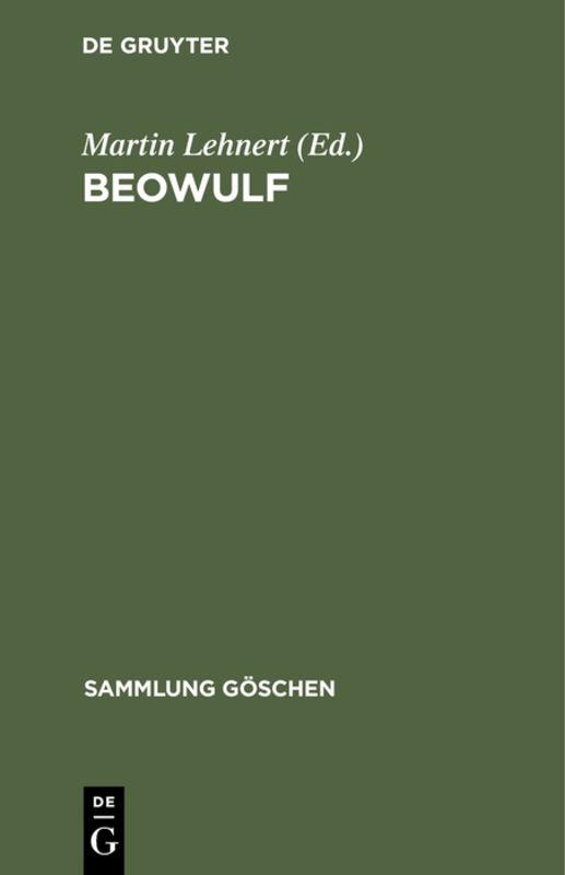 Cover-Bild Beowulf