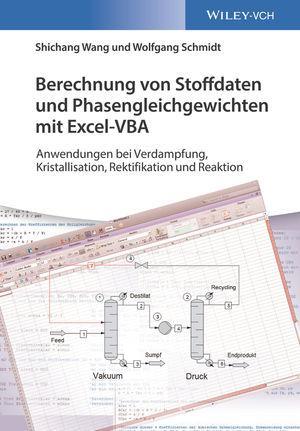 Cover-Bild Berechnung von Stoffdaten und Phasengleichgewichten mit Excel-VBA