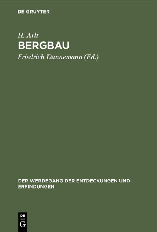 Cover-Bild Bergbau