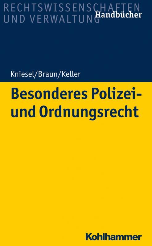 Cover-Bild Besonderes Polizei- und Ordnungsrecht