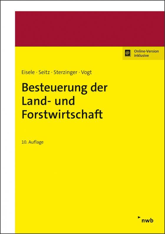 Cover-Bild Besteuerung der Land- und Forstwirtschaft