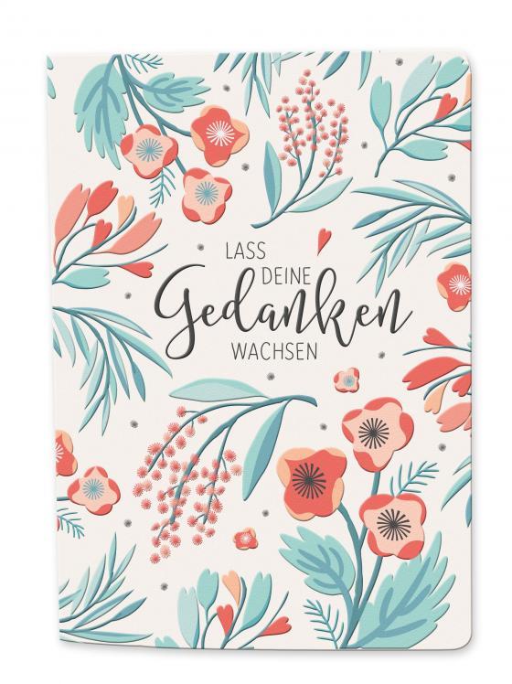Cover-Bild Besticktes Notizbuch - blütenreich