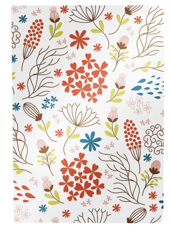 Cover-Bild Besticktes Notizheft - Blumen