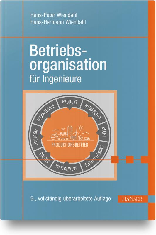 Cover-Bild Betriebsorganisation für Ingenieure