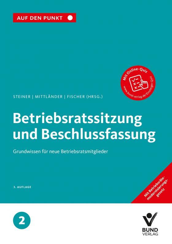 Cover-Bild Betriebsratssitzung und Beschlussfassung