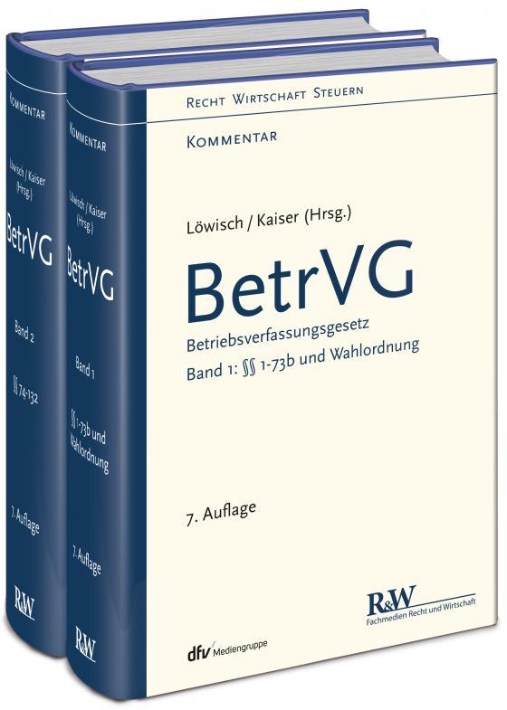 Cover-Bild BetrVG, Band 1 und 2