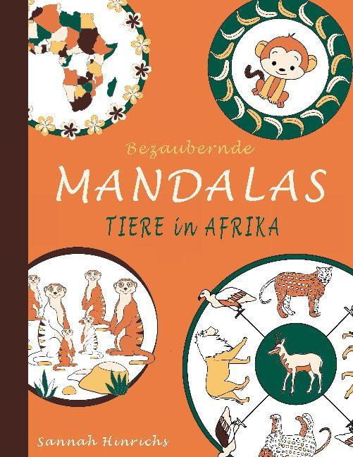 Cover-Bild Bezaubernde Mandalas - Tiere in Afrika