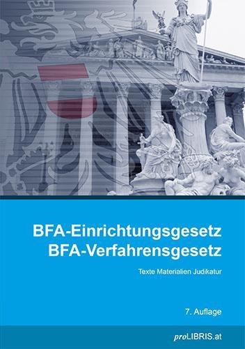 Cover-Bild BFA-Einrichtungsgesetz / BFA-Verfahrensgesetz