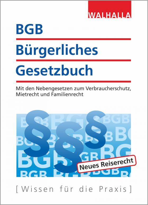 Cover-Bild BGB - Bürgerliches Gesetzbuch Ausgabe 2018/2019