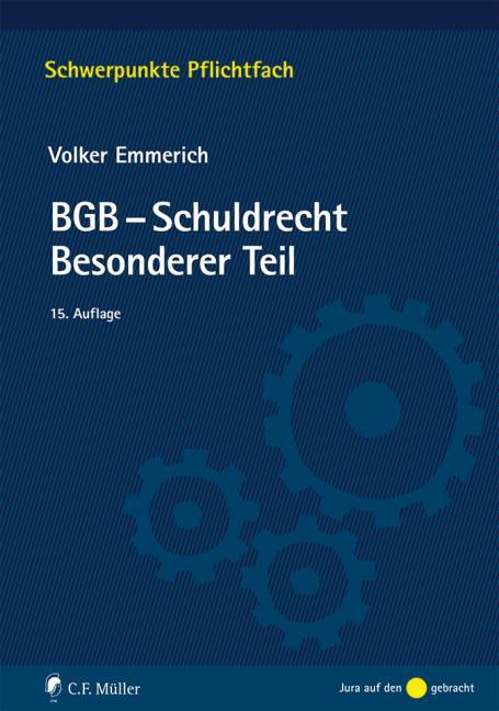 Cover-Bild BGB-Schuldrecht Besonderer Teil