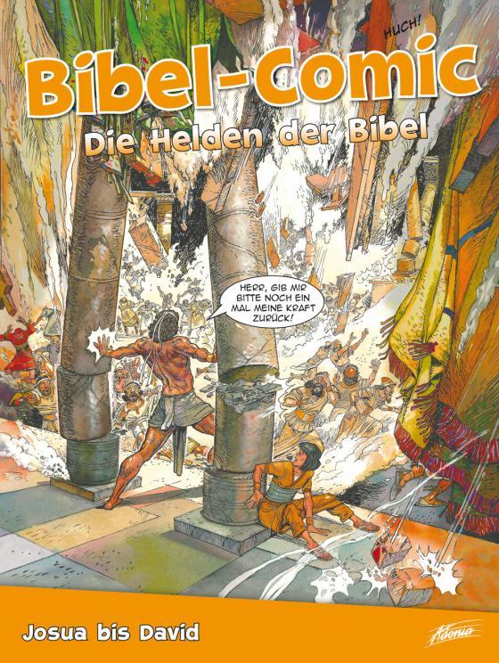 Cover-Bild Bibel-Comic – Die Helden der Bibel