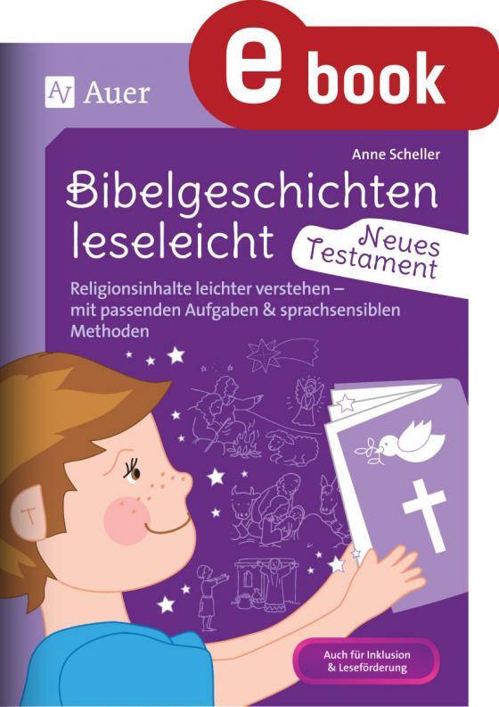 Cover-Bild Bibelgeschichten leseleicht - Neues Testament