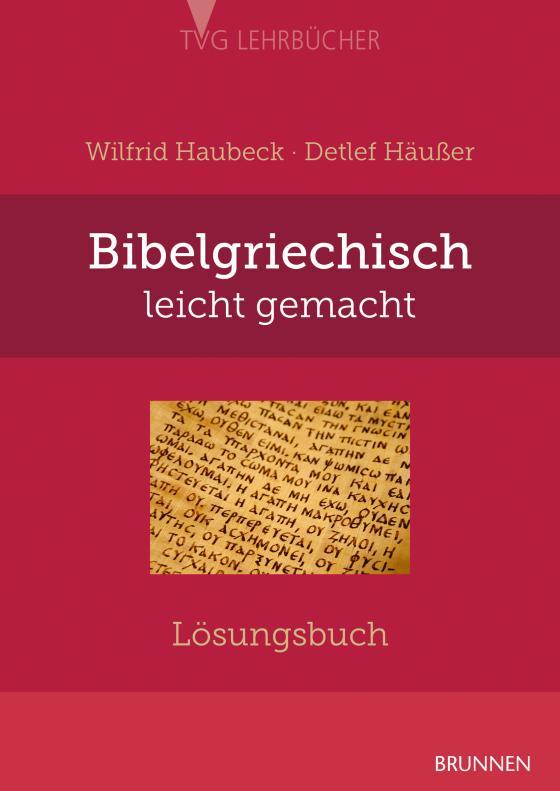 Cover-Bild Bibelgriechisch leicht gemacht