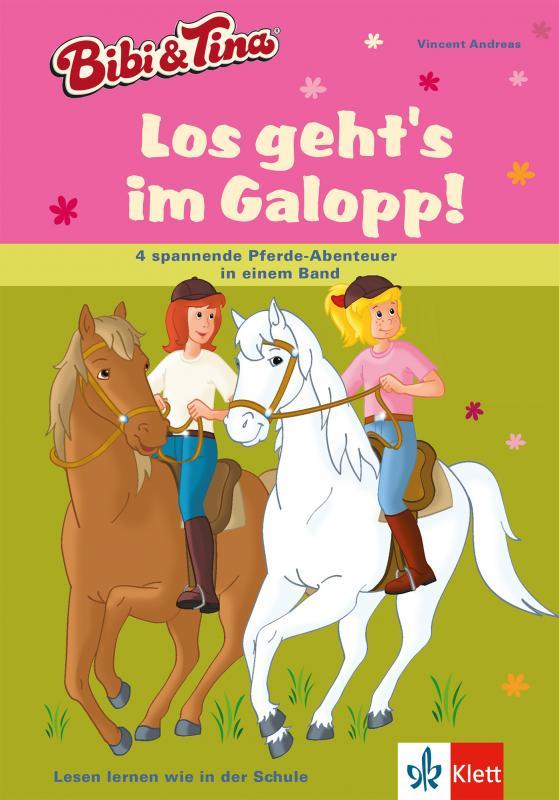 Cover-Bild Bibi und Tina - Los geht's im Galopp!