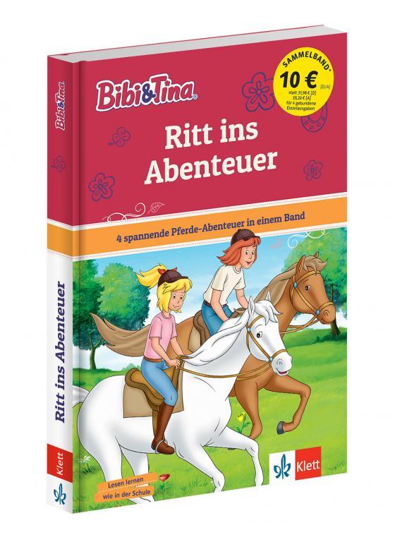 Cover-Bild Bibi und Tina Ritt ins Abenteuer