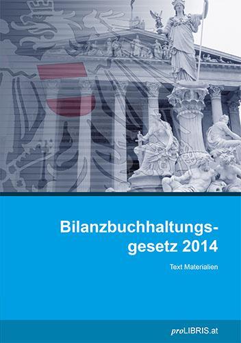 Cover-Bild Bilanzbuchhaltungsgesetz 2014