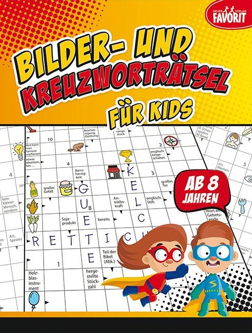 Cover-Bild Bilder- und Kreuzworträtsel für Kids