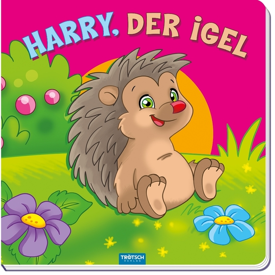 "Cover-Bild Bilderbuch ""Harry, der Igel"""