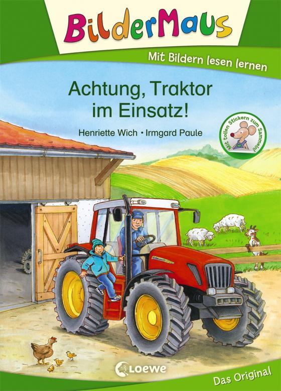 Cover-Bild Bildermaus - Achtung, Traktor im Einsatz!