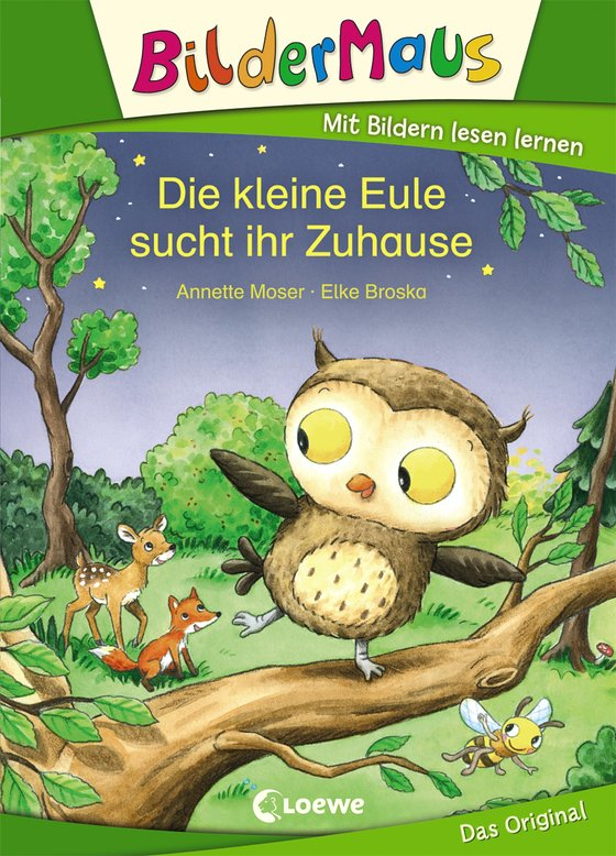Cover-Bild Bildermaus - Die kleine Eule sucht ihr Zuhause