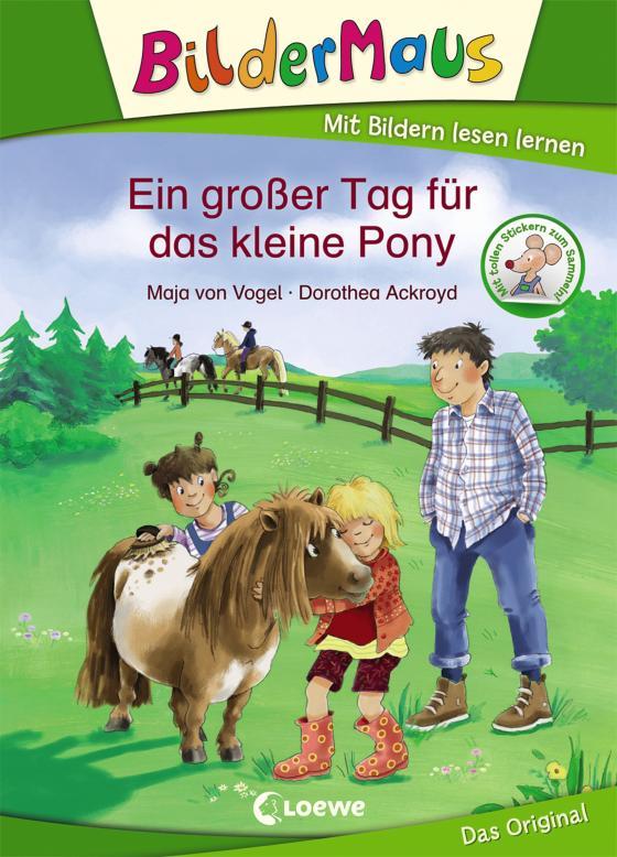 Cover-Bild Bildermaus - Ein großer Tag für das kleine Pony