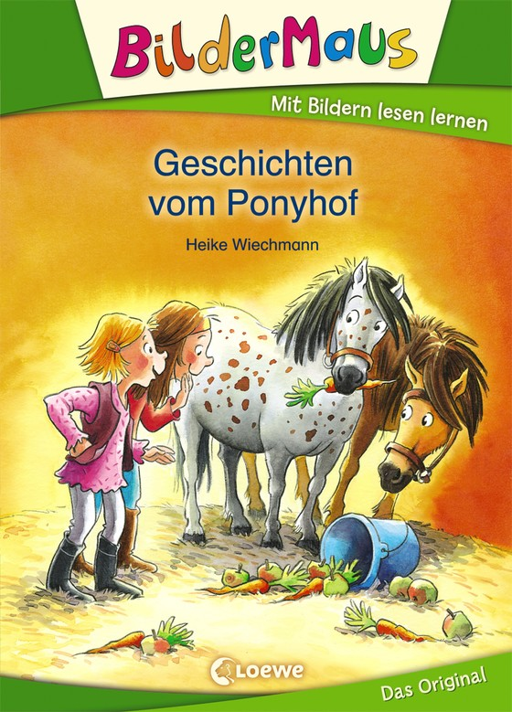 Cover-Bild Bildermaus - Geschichten vom Ponyhof