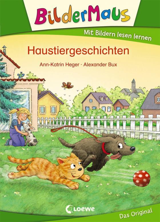 Cover-Bild Bildermaus - Haustiergeschichten