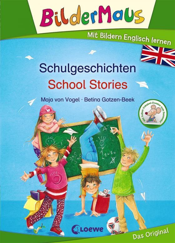 Cover-Bild Bildermaus - Mit Bildern Englisch lernen - Schulgeschichten - School Stories