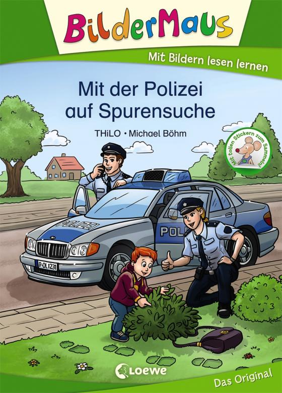 Cover-Bild Bildermaus - Mit der Polizei auf Spurensuche