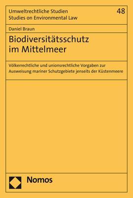 Cover-Bild Biodiversitätsschutz im Mittelmeer