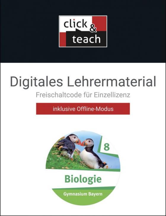 Cover-Bild Biologie – Bayern / Biologie – Bayern click & teach 8 Box