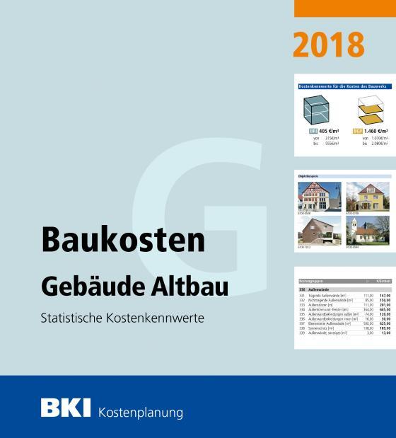 Cover-Bild BKI Baukosten Gebäude Altbau 2018