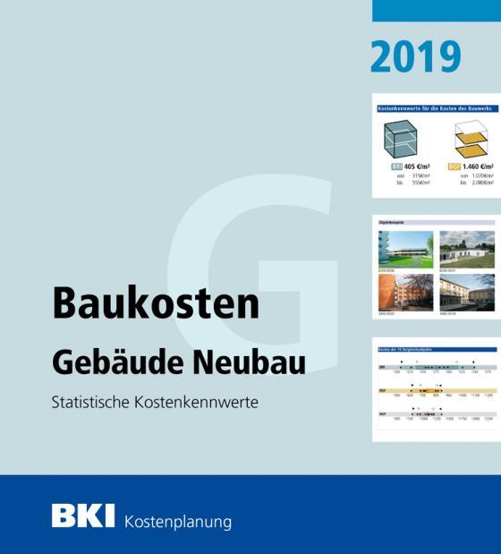 Cover-Bild BKI Baukosten Gebäude Neubau 2019