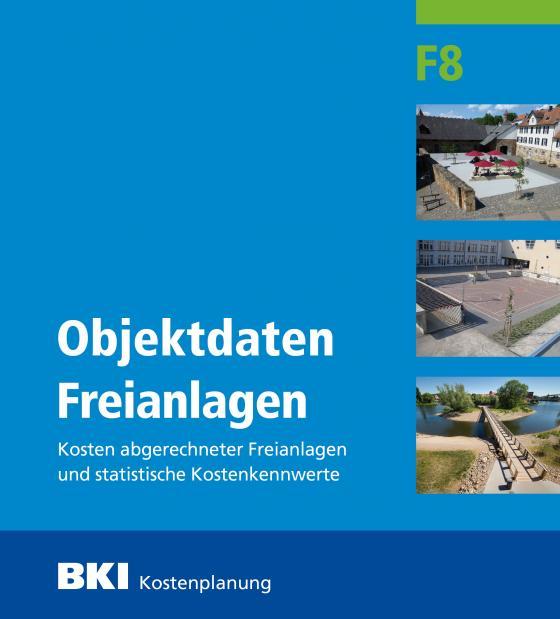 Cover-Bild BKI Objektdaten Freianlagen F8