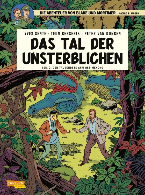 Cover-Bild Blake und Mortimer 23: Das Tal der Unsterblichen, Teil 2